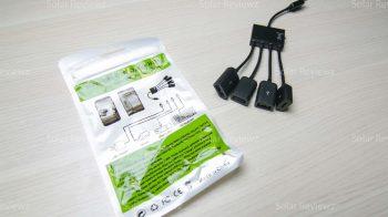 Как подключить мышку и зарядку к планшету одновременно USB + OTG adapter charge microusb aliexpress