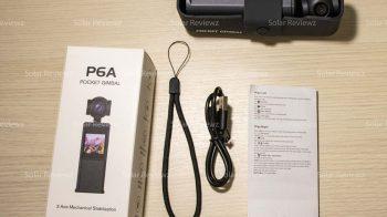 KEELEAD P6A pocket gimbal — Обзор экшн видеокамеры с 3-х осевым стабилизатором