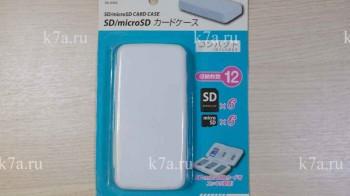 Чехол для карт памяти SD, microSD — Кейс для 6TF + 6SD Какой лучше? — ОБЗОР