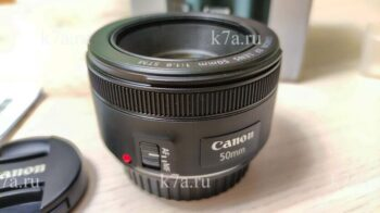 Объектив Canon EF 50 MM f 1.8 STM — Отзыв пользователя